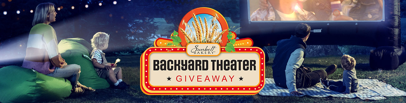 Backyard Theater Giveaway